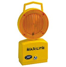 Maxilite - Flashing Amber with photocell  safety sign