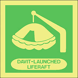 davit launched liferaft