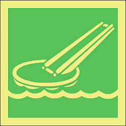 evacuation slide symbol