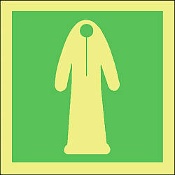 thermal protective aid symbol