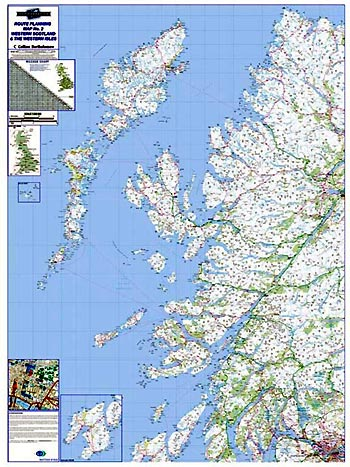 Regional Road Map 2 - Western Scotland & the Western Isles