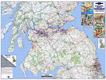 Regional Road Map 3 - Southern Scotland & Northumberland