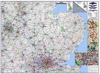 regional road map 5 east midlands east anglia including london