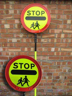 600mm School Crossing Patrol Sign