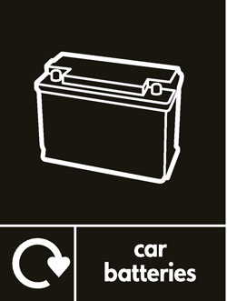 Car batteries recycle