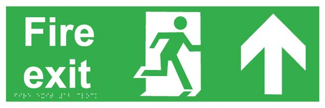Fire Exit ahead