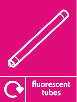 Fluorescent tubes recycle