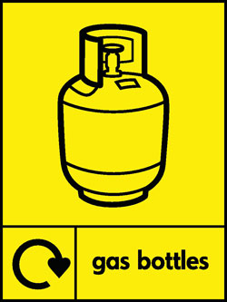 Gas bottles recycle