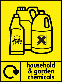 Household and garden chemicals recycle