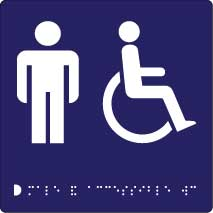 Male and Accessible Toilet