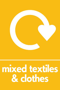 Mixed textiles and clothes recycle