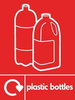 Plastic bottles2 recycle