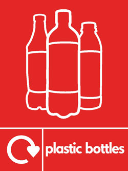 Plastic bottles3 recycle