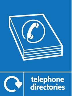 Telephone directories recycle