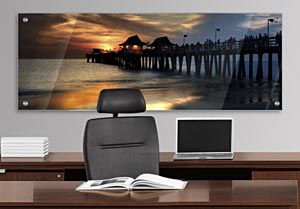 Naples Pier - Office Art on Acrylic