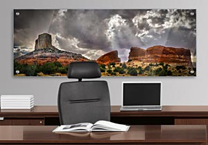 Arizona Rock Formations - Office Art on Acrylic