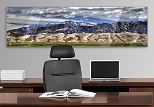 Great Sandunes - Office Art on Acrylic