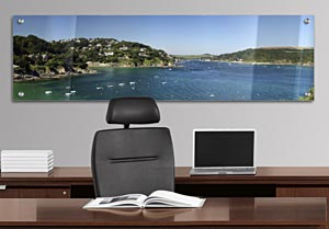 Kingsbridge, Devon - Office Art on Acrylic