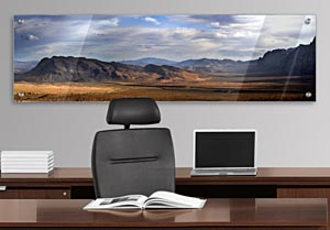 Red Rock Canyon - Office Art on Acrylic