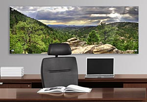 Santa Fe - Office Art on Acrylic