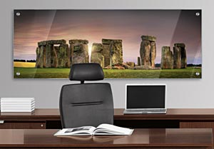 Stone Henge - Office Art on Acrylic