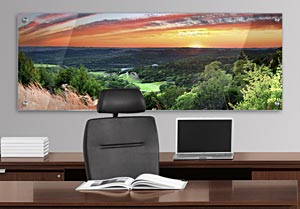 Texas Sunset - Office Art on Acrylic