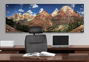 Zion National Park - Office Art on Acrylic